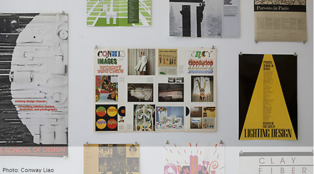 ALL OVER THE PLACE: PARSONS POSTERS FROM THE KELLEN DESIGN ARCHIVES