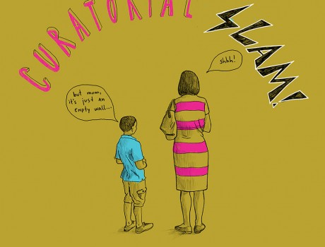 CDRL Presents: CURATORIAL SLAM! What can curatorial work be today?
